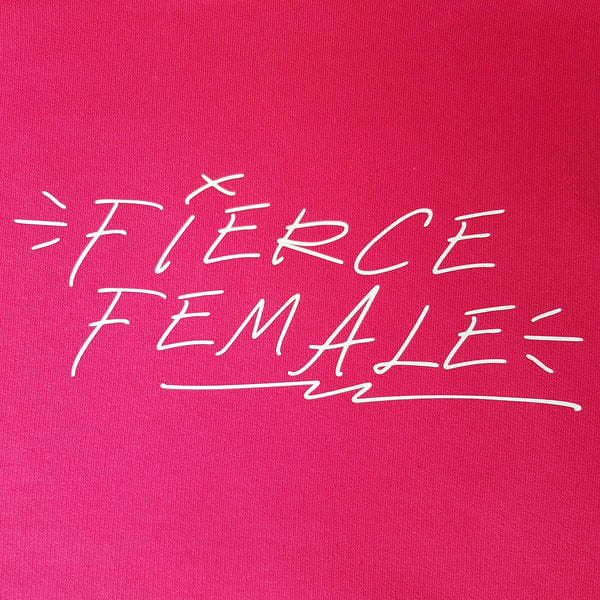 Fierce Female Adult Tshirt - Hello Pickle!