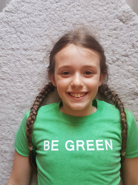 Be Green T-shirt - Children - Hello Pickle!
