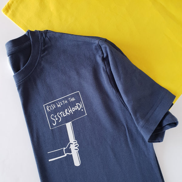 Children's Rise with the Sisterhood T-shirt Muted - Hello Pickle!