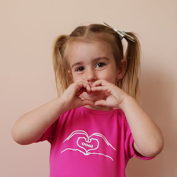 Hands Hearts Tshirt - Hello Pickle!