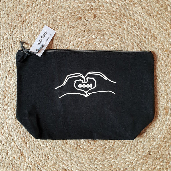 Cool Large Zip Up Pouch/Bag