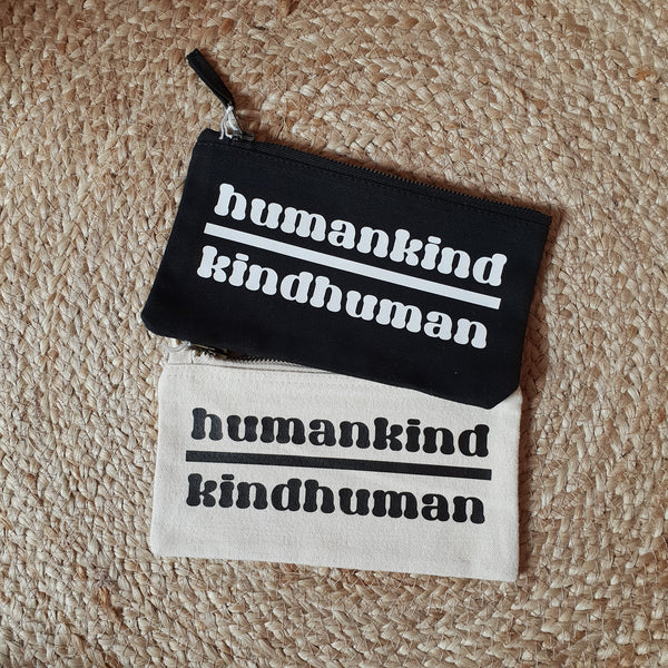 Humankind Small Zip Up Pouch