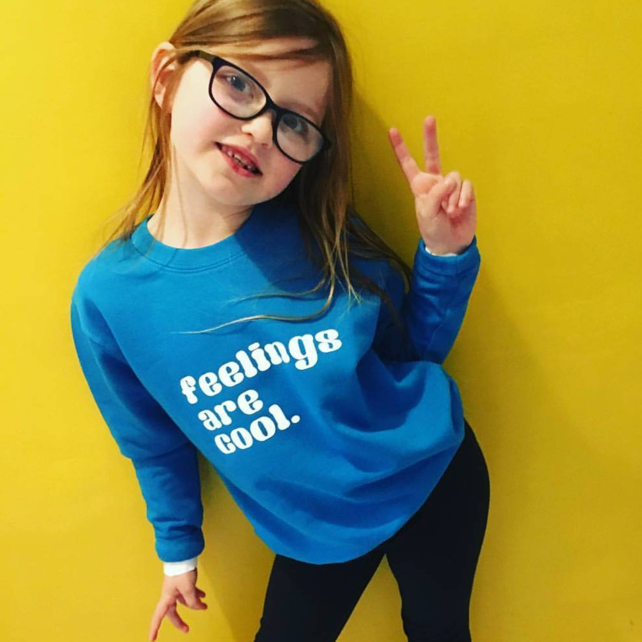 KIDS Feelings are cool Jumper - Hello Pickle!