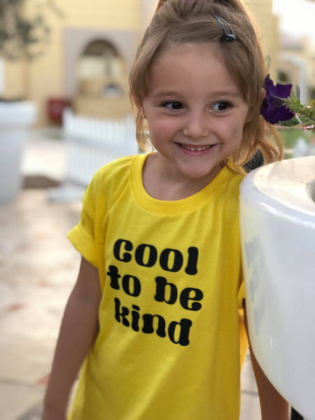 KIDS Cool to be kind Tshirt - Hello Pickle!