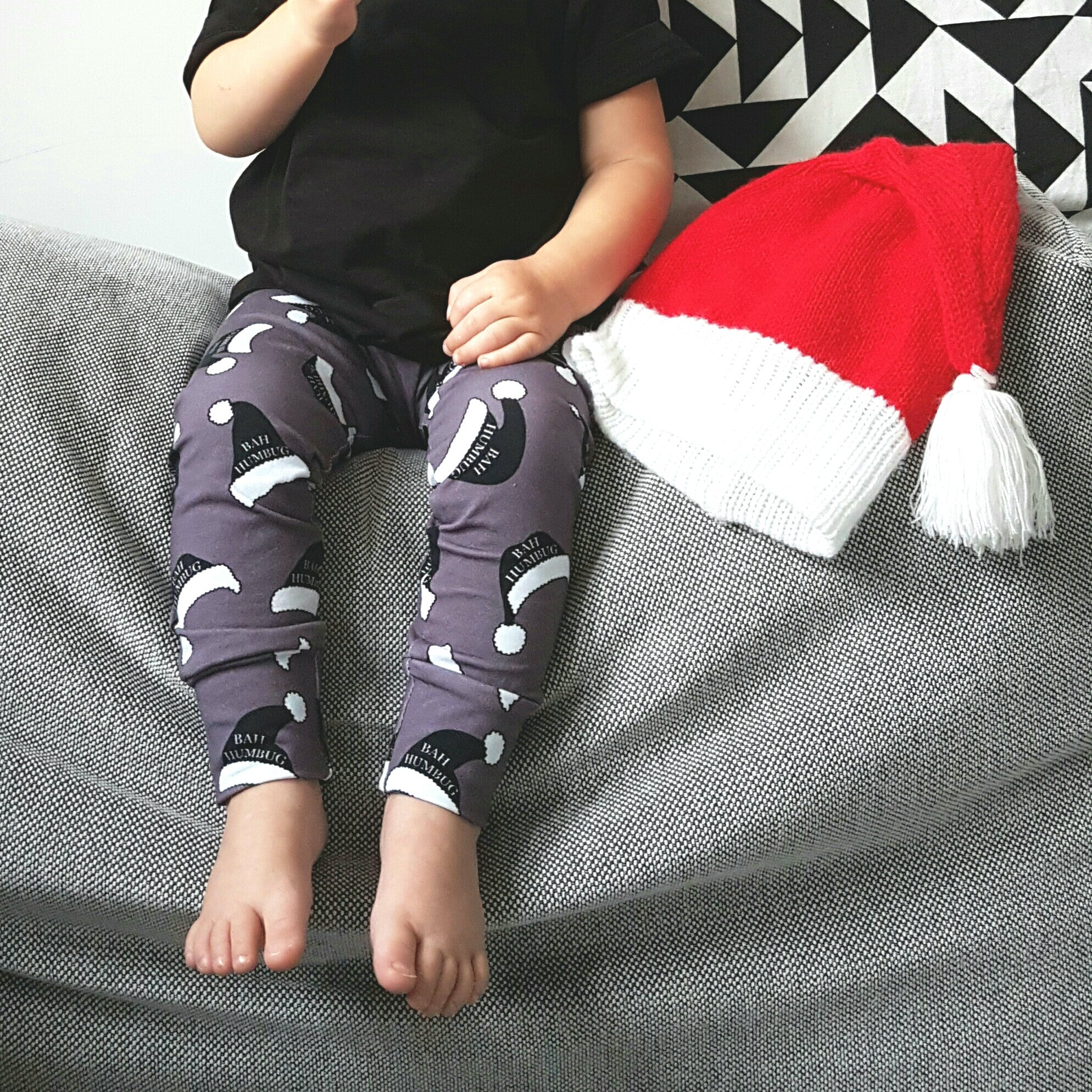 Bah-Humbug Christmas Leggings - Hello Pickle!