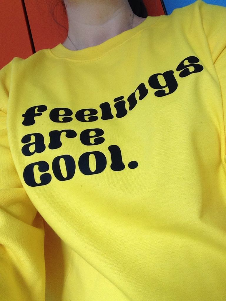 ADULT Feelings are cool Jumper - Hello Pickle!