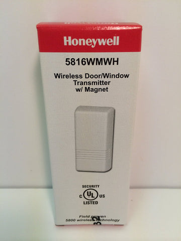 Honeywell Ademco 5816WMWH White Door / Window Transmitter w/ Magnet