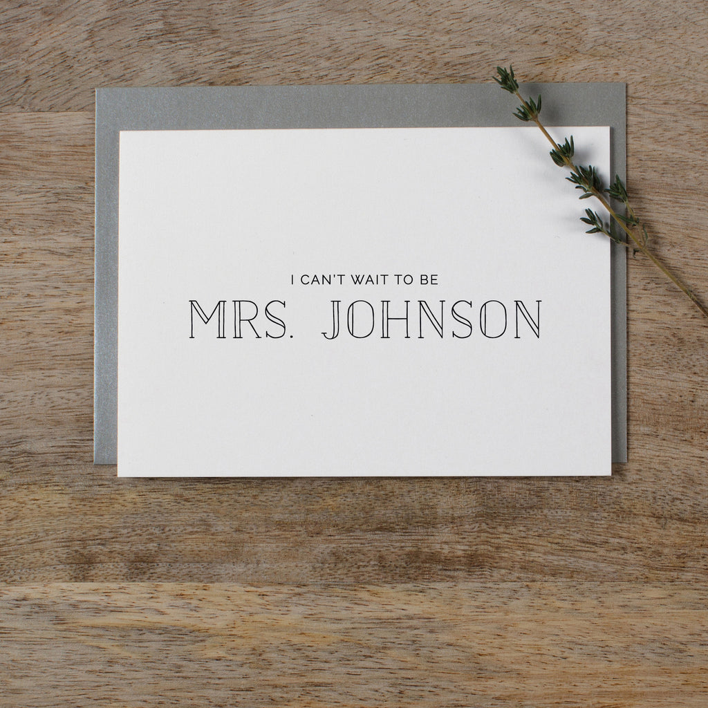 CUSTOM MRS CARD - matilda