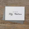CUSTOM MRS CARD - audrey