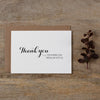 THANK YOU CARDS - SET OF 5 - audrey