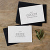 BRIDE AND GROOM CARDS - matilda