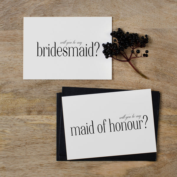 maid-of-honour-bridesmaid-card