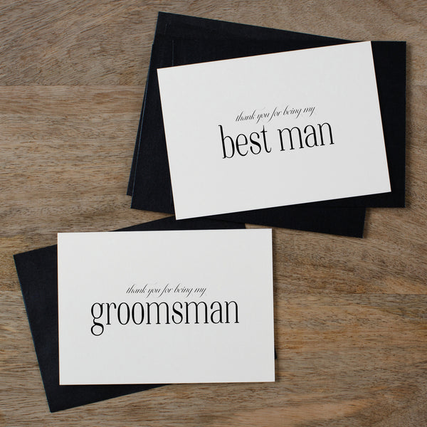THANK YOU FOR BEING MY GROOMSMAN - edith