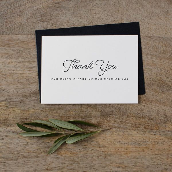 THANK YOU CARDS - SET OF 5 - madeleine