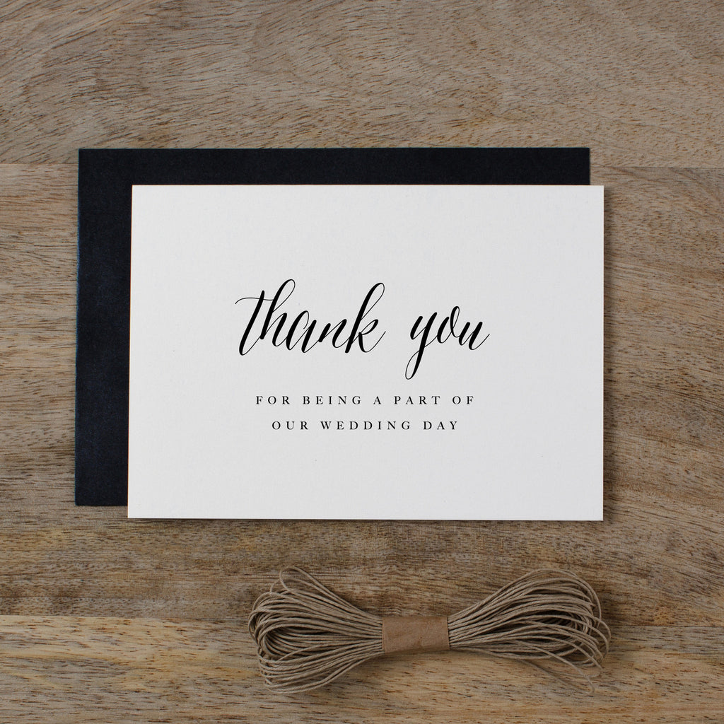 THANK YOU CARDS - SET OF 5 - harriet