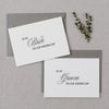 BRIDE AND GROOM CARDS - rose