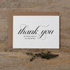 THANK YOU CARDS - SET OF 5 - dorothy