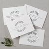 WEDDING VENDOR THANK YOU CARDS - adelaide