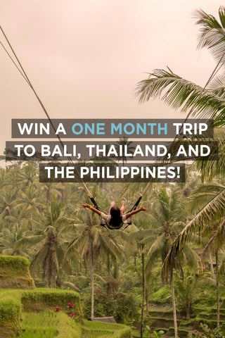 WIN 15 000 dollars worth trip to Bali, Philippines and Thailand