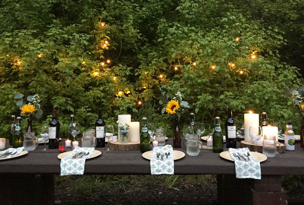 Goddess Dinner in the Woods
