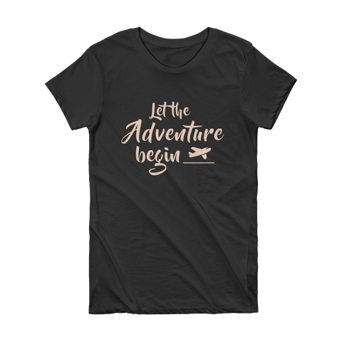 Adventure (Pink) - Women's T-shirt