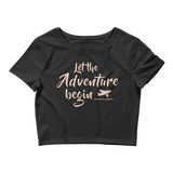 Adventure - Women's Crop Tee