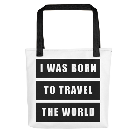 Born To Travel - Tote bag