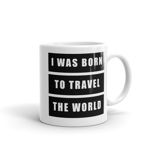 Born To Travel - Mug