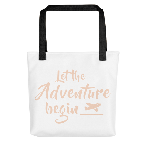 Adventure (Pink) - Tote bag