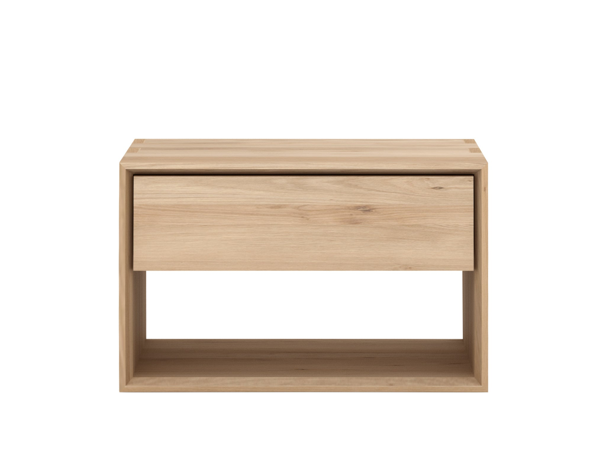 ETH Oak Nordic 2 Bedside Drawer Hunter Valley Design