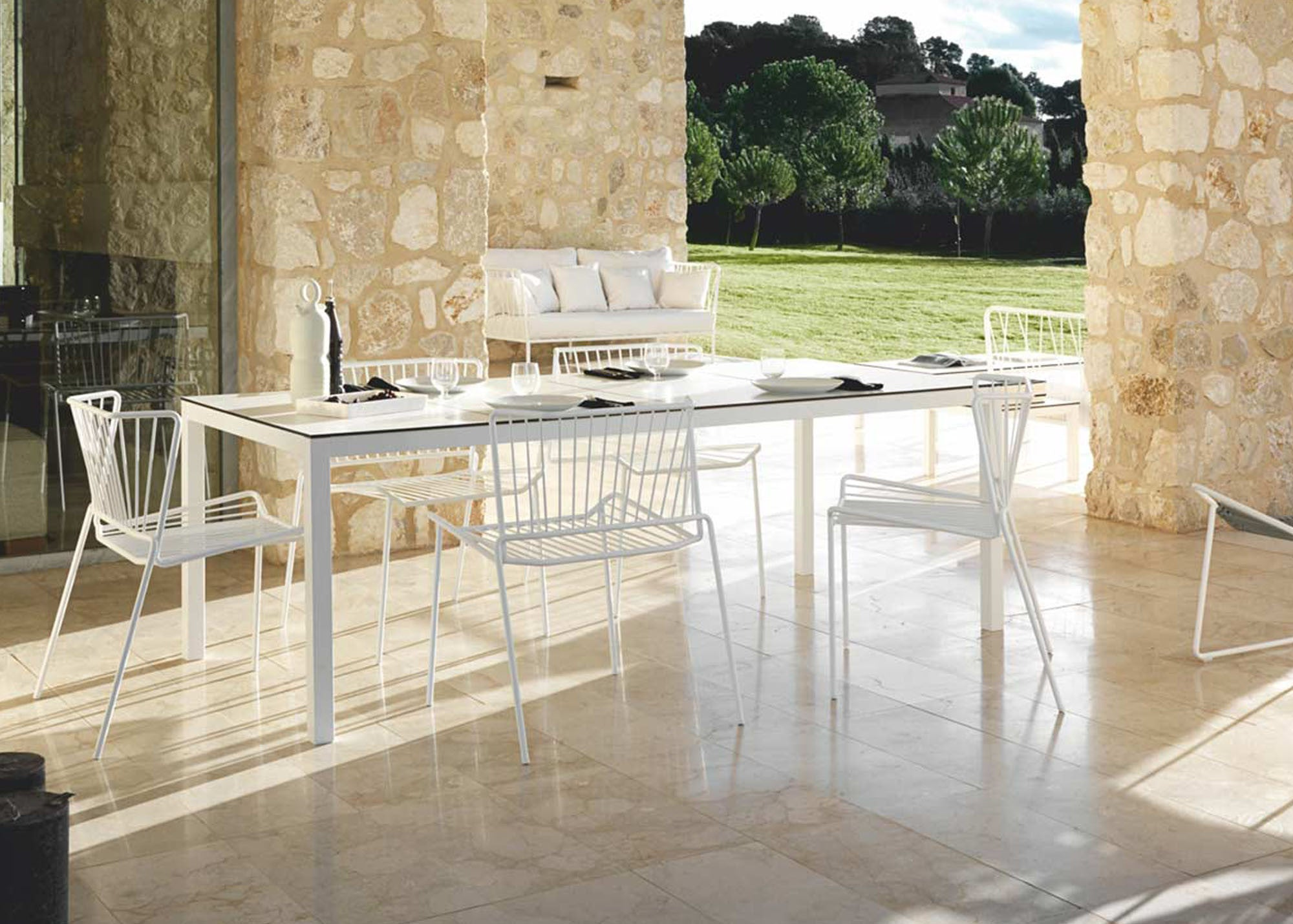 Extending Outdoor Dining Table Exoutdoor Dining Table Fixed Extending Hunter Valley Design