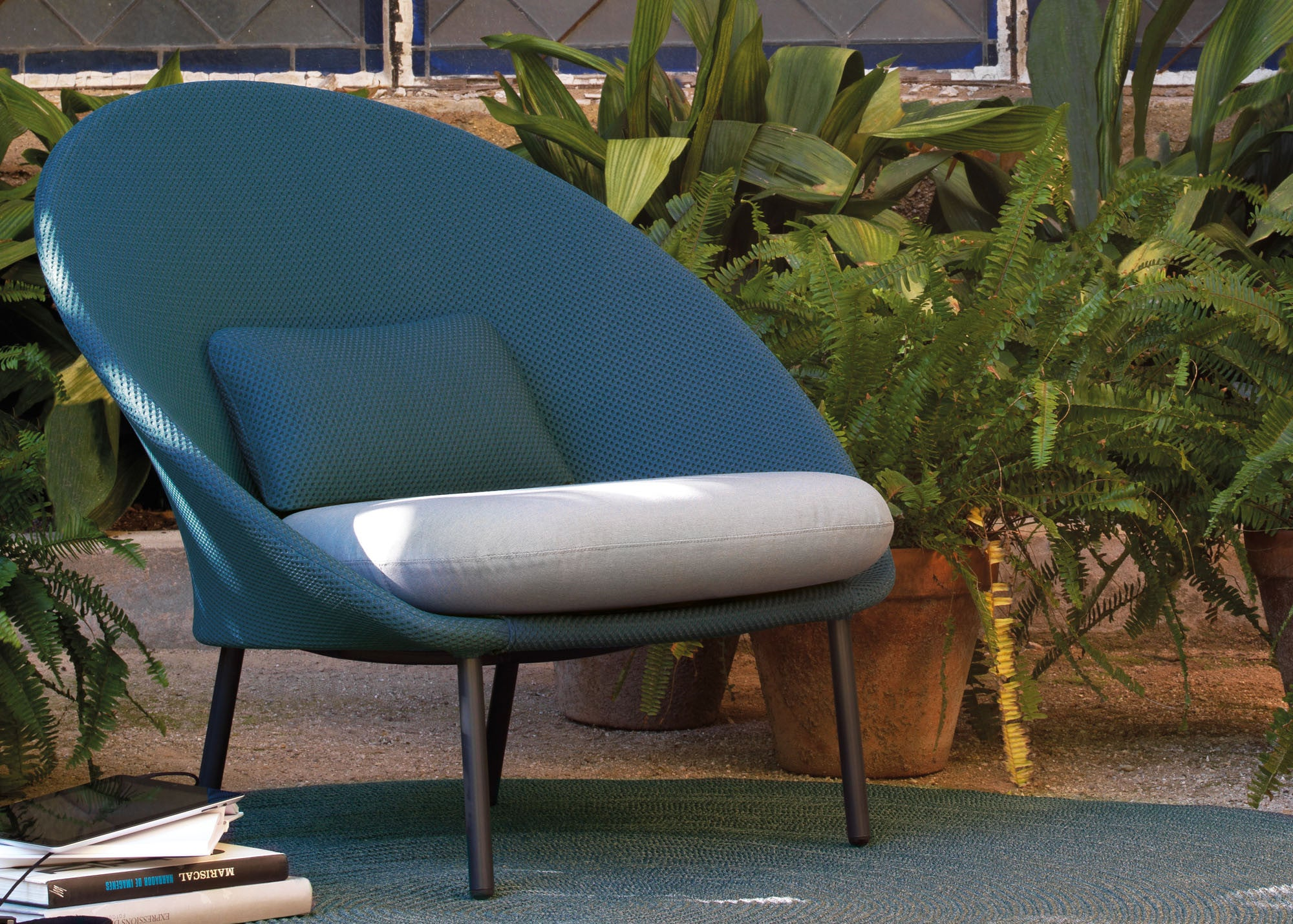 EX Twins Outdoor Lounge Chair C170 1 2 Hunter Valley Design