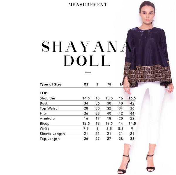 Sare Doll Cutting Top