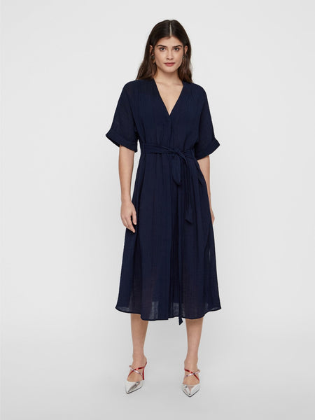 YASmika ss midi shirt dress