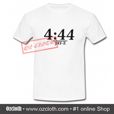 4 44 Jay Z Time T-Shirt