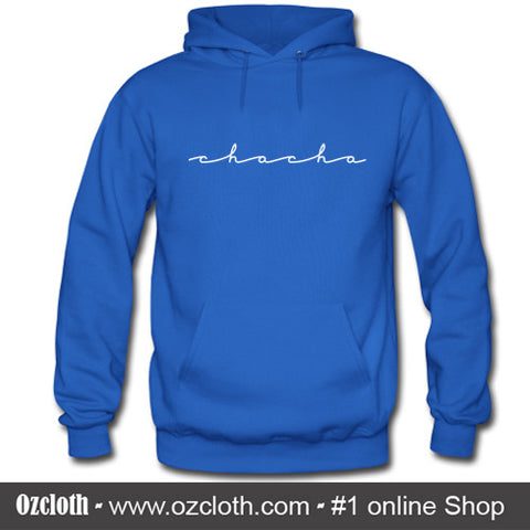 Chacha The Wave Blue Hoodie
