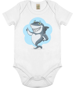 Mr. Shark Approves - Baby Bodysuit