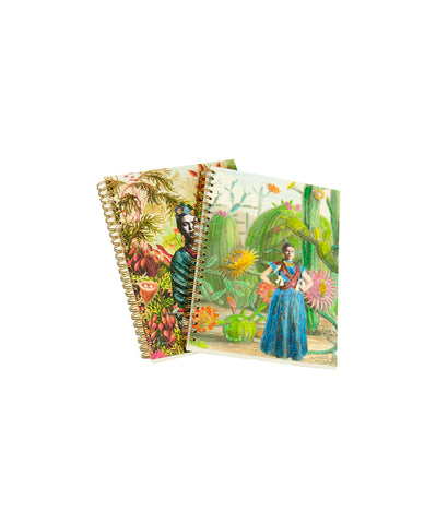 Frida bird notebook