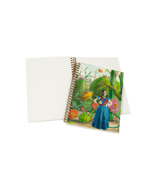 Frida cactus notebook