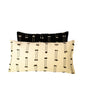 Black Nomad tufted cushion