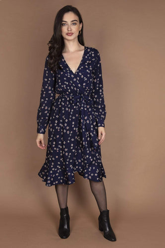Ada Rowe Dresses Navy / 8 / Midi Alice Dress