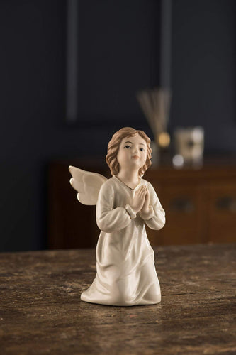 Belleek Christmas Nativity Crib Angel of Worship