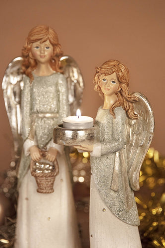 Carraig Donn HOME Christmas Ornaments Angel with Basket