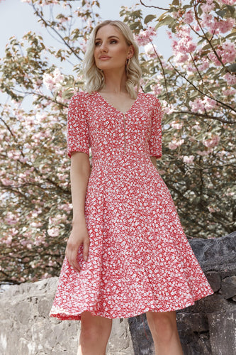 J'aime la Vie Dresses Aoife Dress in Red