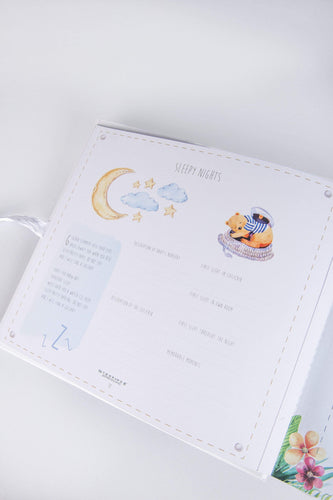 Newbridge Silverware Baby Milestone Book