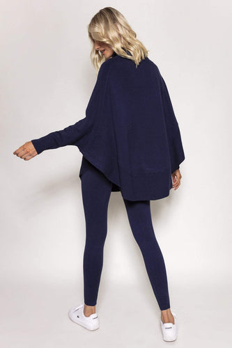 Nova of London Jumpers Batwing Loungewear Top & Jogger Set