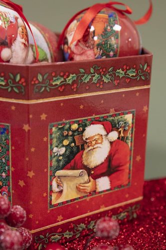 Carraig Donn HOME Christmas Tree Decorations Bauble Box Santa