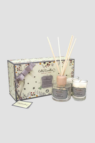 Celtic Candles Gift Sets Black Pomegranate Celtic Classic Gift Box