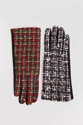 SOUL Accessories Gloves One / Black Black & Red Gloves