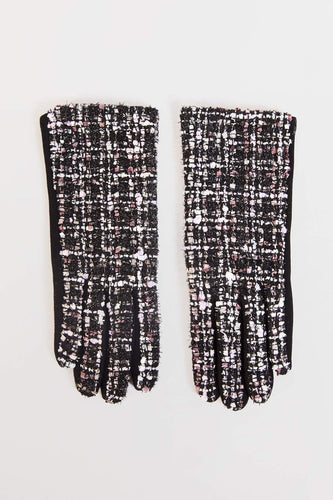SOUL Accessories Gloves One / Black Black & White Gloves